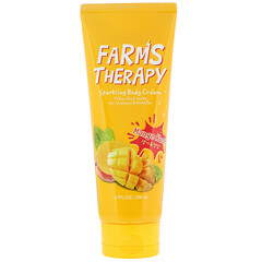 Doori Cosmetics, Farms Therapy,閃亮身體乳霜,芒果衝擊,6.7 液量盎司(200 毫升)