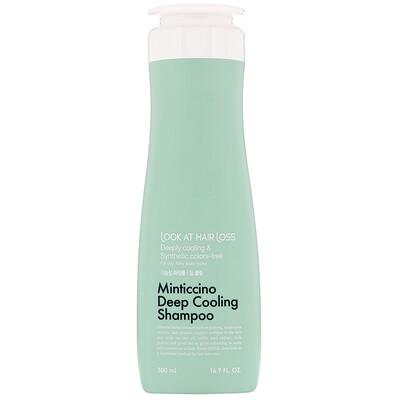 Doori Cosmetics Look At Hair Loss, Minticcino, охлаждающий шампунь, 500мл