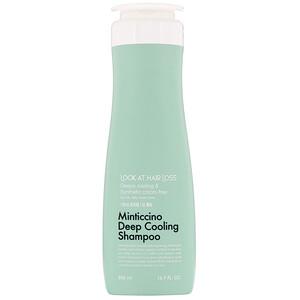 Doori Cosmetics, Look At Hair Loss, Minticcino Deep Cooling Shampoo, 16.9 fl oz (500 ml) отзывы
