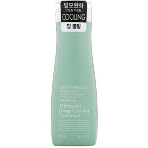 Doori Cosmetics, Look At Hair Loss, Minticcino Deep Cooling Treatment, 16.9 fl oz (500 ml) отзывы