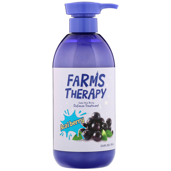 Doori Cosmetics, Farms Therapy, Defense Treatment, Acai Berry, 23.6 fl oz (700 ml)