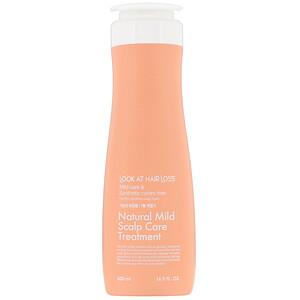 Doori Cosmetics, Look At Hair Loss, Natural Mild Scalp Care Treatment, 16.9 fl oz (500 ml) отзывы