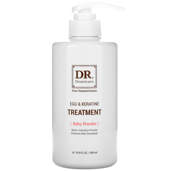 Daeng Gi Meo Ri, Dr. Egg & Keratin Treatment, Baby Powder, 16.9 fl oz (500 ml)