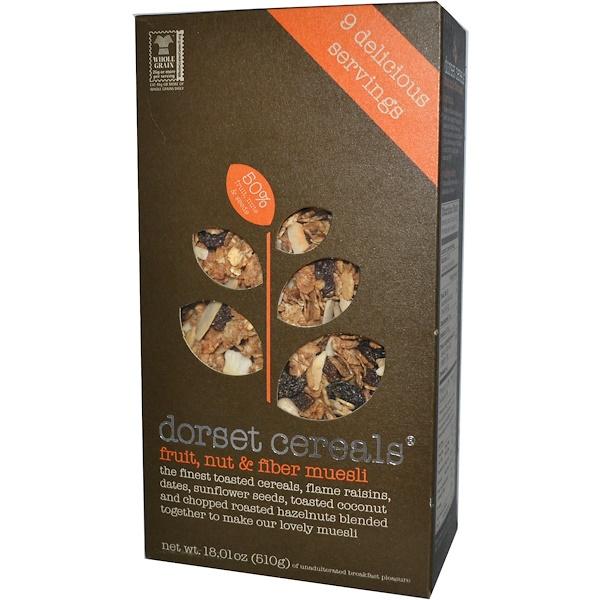 Dorset Cereals, Fruit, Nut & Fiber Muesli, 18.01 oz (510 g) (Discontinued Item)