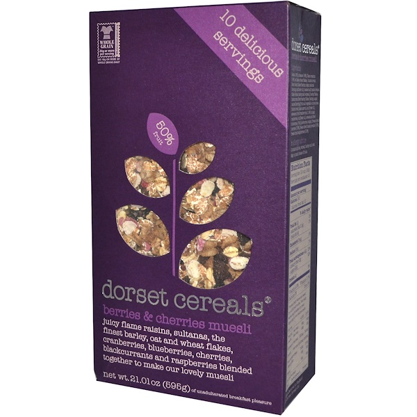 Dorset Cereals, Berries & Cherries Muesli, 21.01 oz (595 g) (Discontinued Item)