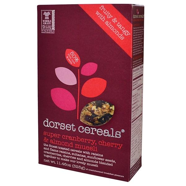 Dorset Cereals, Super Cranberry, Cherry & Almond Muesli, 11.46 oz (325 g) (Discontinued Item)