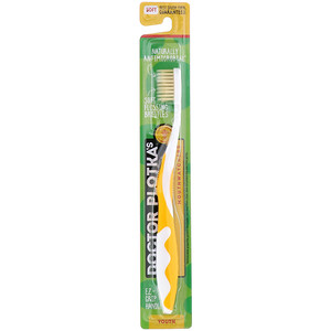 Dr. Plotka, MouthWatchers, Youth, Naturally Antimicrobial Toothbrush, Soft, Yellow, 1 Toothbrush отзывы покупателей