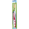 Dr. Plotka, MouthWatchers, Adult, Naturally Antimicrobial Toothbrush, Soft, Red, 1 Toothbrush
