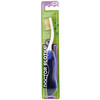 Dr. Plotka, MouthWatchers, Viaje, Cepillo dental naturalmente antibacteriano, Suave, Azul, 1 cepillo dental