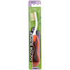 Dr. Plotka, MouthWatchers, Travel, Naturally Antimicrobial Toothbrush, Soft, Red, 1 Toothbrush