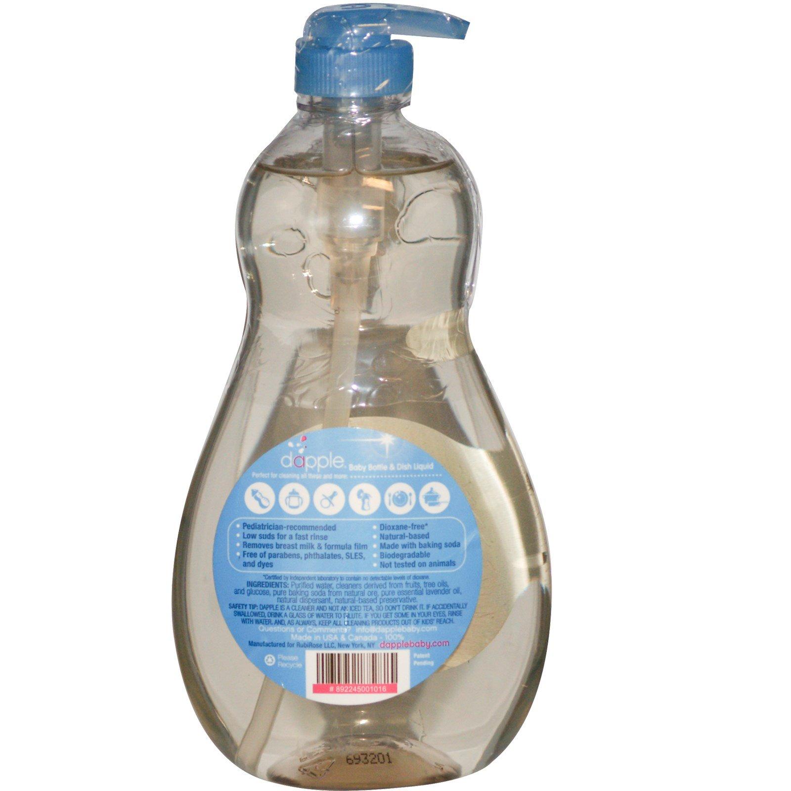 Dapple Baby Bottle Amp Dish Liquid 16 9 Fl Oz 500 Ml
