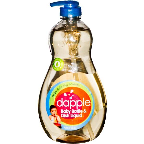 Dapple, Baby Bottle & Dish Liquid, 16.9 fl oz (500 ml) (Discontinued Item)