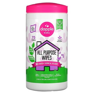 Dapple Baby, Baby, All Purpose Wipes, Lavender, 75 Wipes