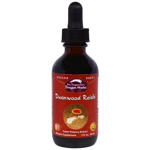 Dragon Herbs, Duanwood Reishi, 2 fl oz (60 ml)