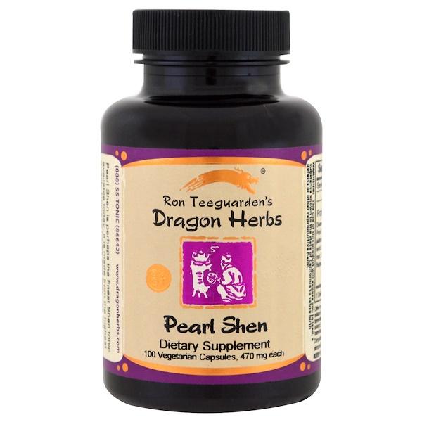 Dragon Herbs, 淡水珍珠粉,500毫克,100粒