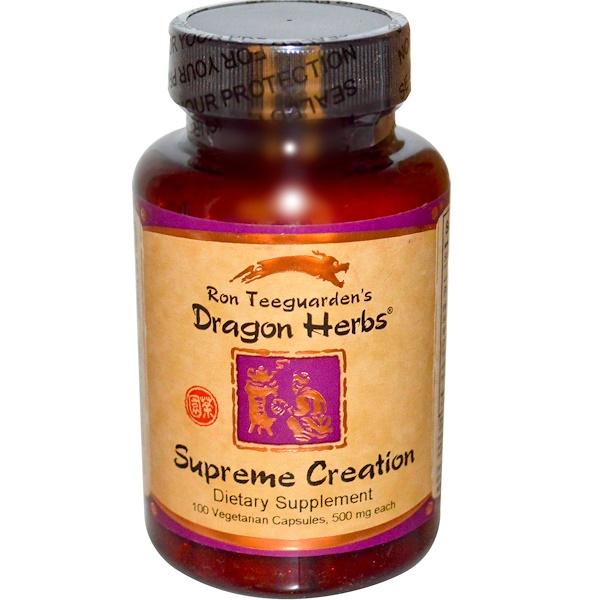 Dragon Herbs, 至尊創世,500毫克, 100粒