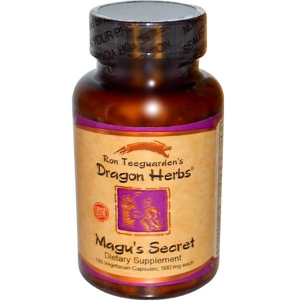 Dragon Herbs, Magu's Secret, 500 mg, 100 Veggie Caps