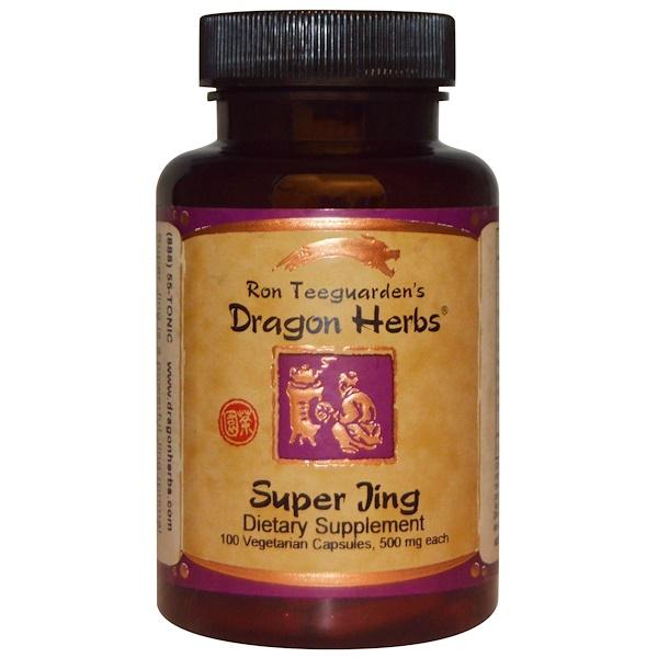 Dragon Herbs, Super Jing, 500 mg, 100 Veggie Caps