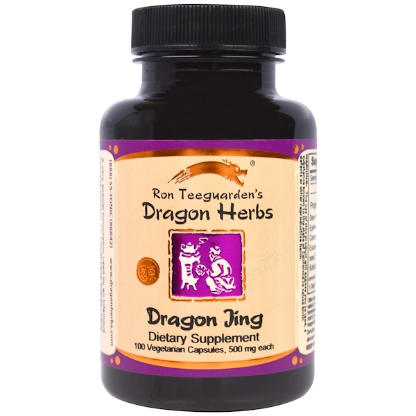 Dragon Herbs, Dragon Jing, 500 mg, 100 Veggie Caps (Discontinued Item)