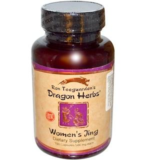 Dragon Herbs, 여성들의 징(Jing), 500 mg, 100 캡슐