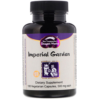 Dragon Herbs, Imperial Garden, 500 mg, 100 Vegetarian Capsules
