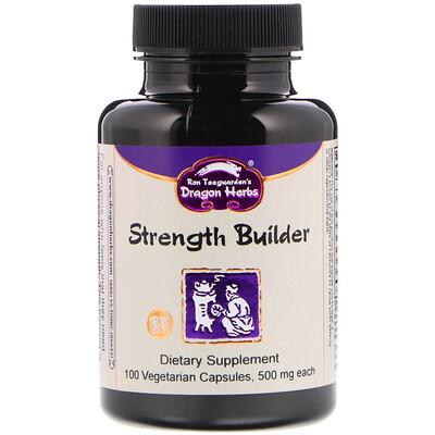 Strength Builder, 500 mg, 100 Vegetarian Capsules glucomannan maximum strength 2 000 mg 90 capsules