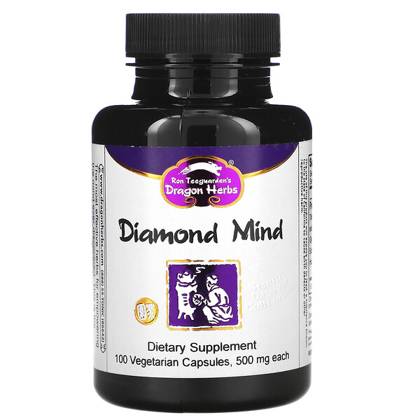 Diamond Mind, 500 mg, 100 Vegetarian Capsules