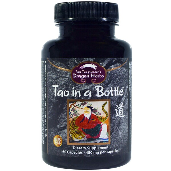 Dragon Herbs, Tao en Botella, 450 mg, 60 Cápsulas