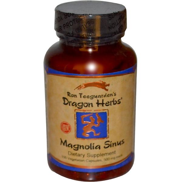 Magnolia Sinus, 500 mg, 100 Vegetarian Capsules