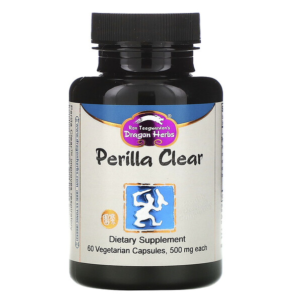 Dragon Herbs, Perilla Clear, 450 mg, 60 Vegetarian Capsules