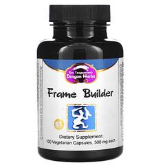 Dragon Herbs, Frame Builder 健康支持素食膠囊,500 毫克,100 粒裝