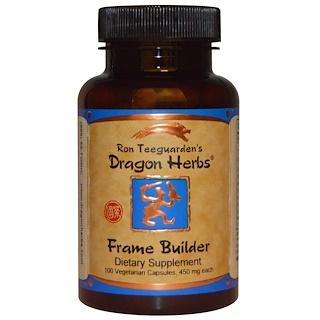 Dragon Herbs, 프레임 빌더, 500 mg, 100 베지 캡