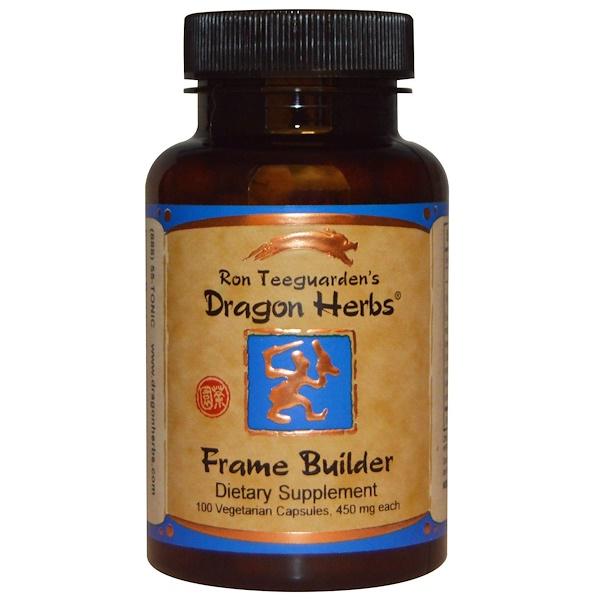Dragon Herbs, Frame Builder,500毫克每粒,100粒裝