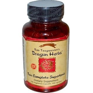 Dragon Herbs, Ten Complete Supertonic, 500 mg, 100 Capsules