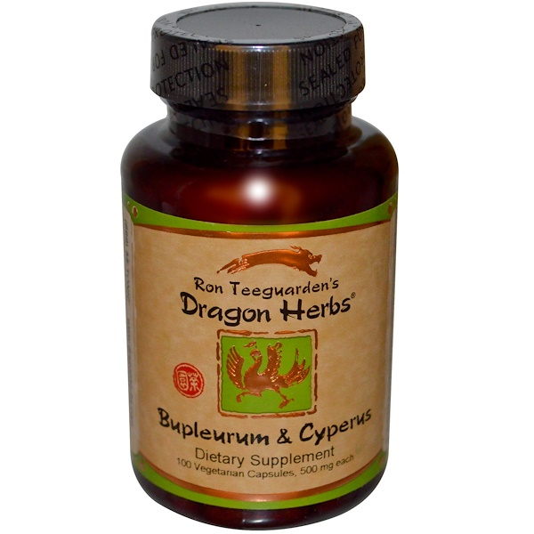 Dragon Herbs, Bupleurum & Cyperus, 500 mg, 100 Vegetarian Capsules (Discontinued Item)