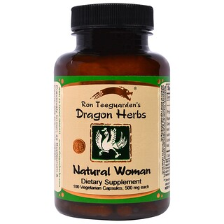 Dragon Herbs, Natural Woman, 470 mg, 100 Veggie Caps