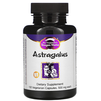Dragon Herbs Astragalus, 425 mg, 100 Vegetarian Capsules