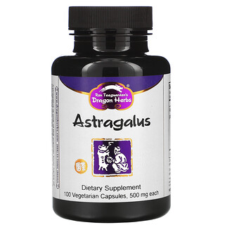 Dragon Herbs, Astragalus, 425 mg, 100 Vegetarian Capsules