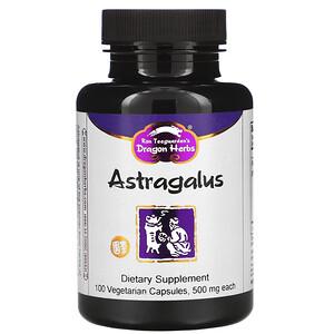 Драгон Хербс, Astragalus, 425 mg, 100 Vegetarian Capsules отзывы