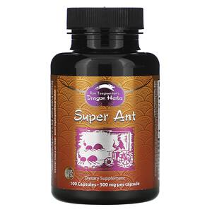 Драгон Хербс, Super Ant, 500 mg, 100 Capsules отзывы
