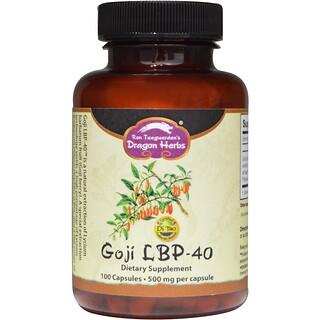 Dragon Herbs, Goji LBP-40, 500 mg, 100 Kapseln