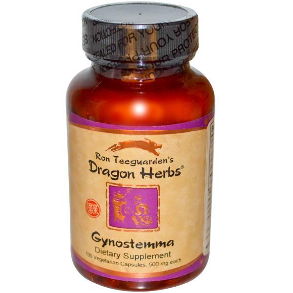 Dragon Herbs, Gynostemma, 450 mg, 100 Capsules
