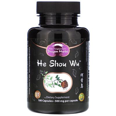 He Shou Wu, 500 mg, 100 Capsules