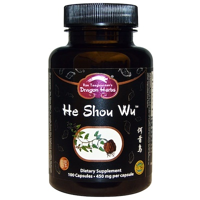 He Shou Wu, 450 мг, 100 капсул