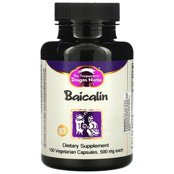 Baicalin, 500 mg, 100 Vegetarian Capsules