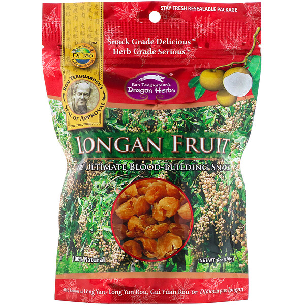 Dragon Herbs, Longan Fruit, 6 oz (170 g)