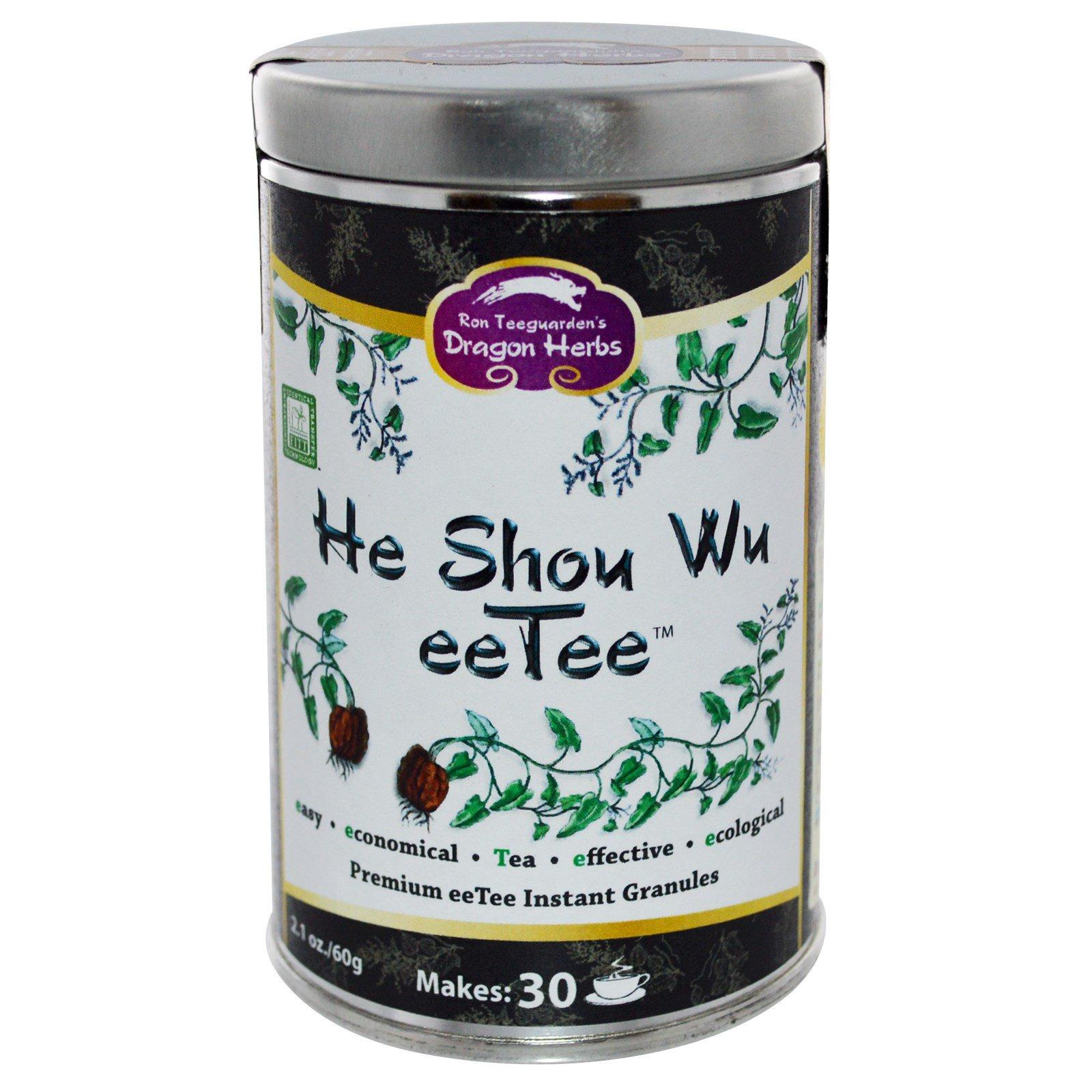 Dragon Herbs, Хи-Шу-Ву, eeTee, 2,1 унции (60 г)