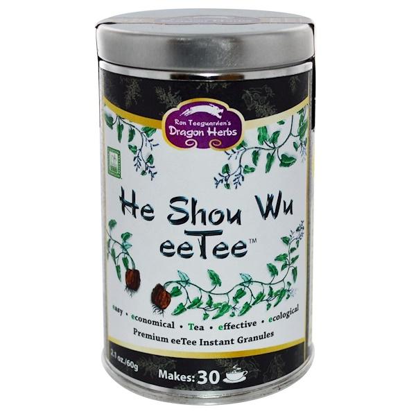Dragon Herbs, He Shou Wu eeTee، به 2.1 أوقية (60غرام) (Discontinued Item)