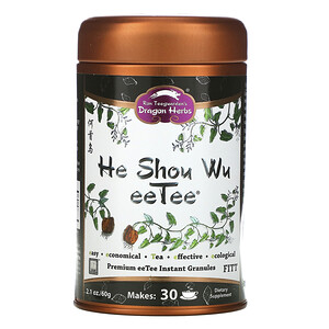 Драгон Хербс, He Shou Wu eeTee, 2.1 oz (60 g) отзывы