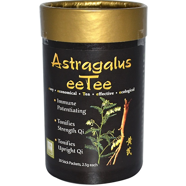 Dragon Herbs, Astragalus eeTee, 30 Stick Packets, 2.5 g Each (Discontinued Item)